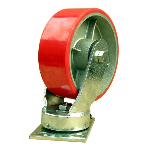 怎么设计重型脚轮的旋转板?